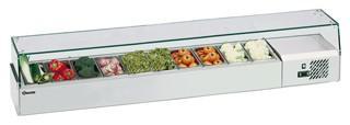 Bartscher Kühlaufsatz für 10 x 1/4 GN, 150 mm - Vorschau