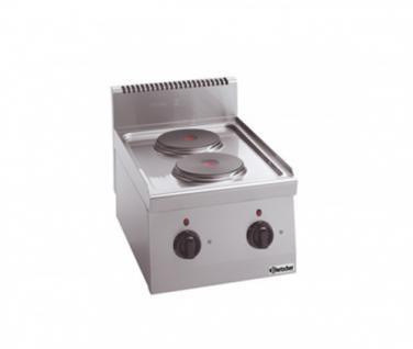 Bartscher 2 Platten Elektroherd - Vorschau