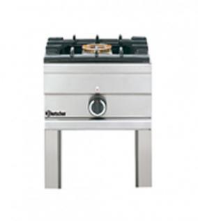 Bartscher Gas-Hockerkocher 450x450x500 - Vorschau