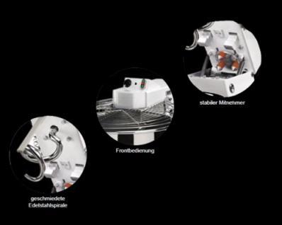 GAM Spiralteigknetmaschine TSVX75 - Vorschau 1