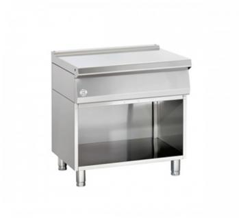 Bartscher Arbeitstisch mit offenem Unterbau 800x700x850-900 - Vorschau