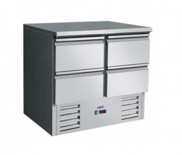 Saro Gekühlter Arbeitstisch Modell VIVIA S901 s/s Top 4 x 1/2 - Vorschau