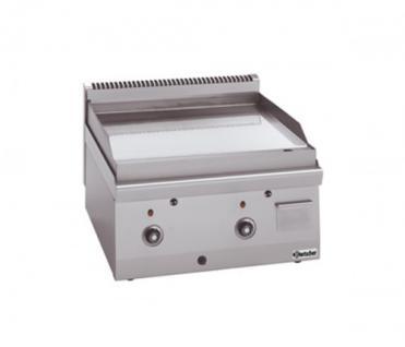 Bartscher Gas-Griddleplatte glatt 600x600x290 - Vorschau