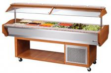 Bartscher Gastro Buffet - Salatbar GN 6x 1/1, 150 mm tief