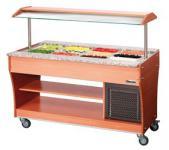Bartscher Gastro Buffet T 150 - Heiße Theke GN 4x 1/1