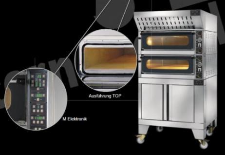 GAM Pizzaofen M 4E Digital - 230V oder 400V - Vorschau 3