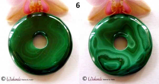 Donut Malachit 40 mm - Vorschau 5