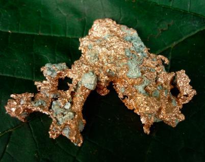 Kupfer gediegen, Michigan (USA)
