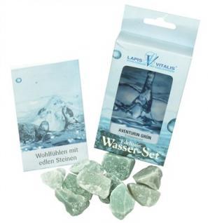 Lapis Vitalis Wassersteine Aventurin grün - Entspannung