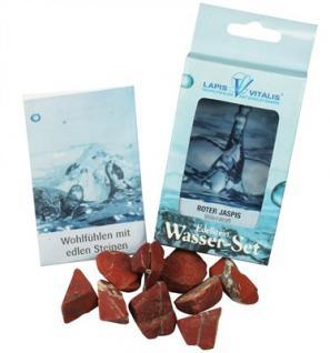 Lapis Vitalis Wassersteine Jaspis rot - Willenskraft
