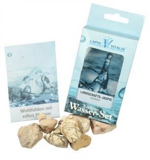 Lapis Vitalis Wassersteine Landschaftsjaspis (Sandstein) - Ausdauer