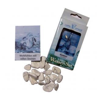 Lapis Vitalis Wassersteine Magnesit - Selbstliebe