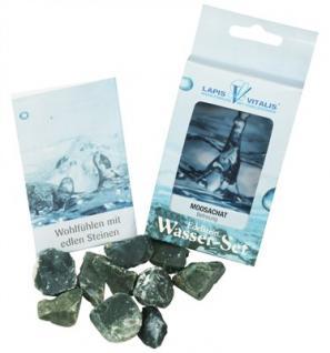Lapis Vitalis Wassersteine Moosachat / grüner Chalcedon - Befreiung