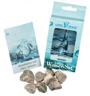 Lapis Vitalis Wassersteine Rhodonit - Verzeihen