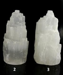 Selenit Kristall Türmchen klein