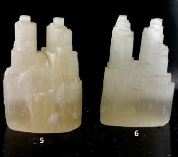 Selenit Kristall Doppel-Türmchen klein - Vorschau 3