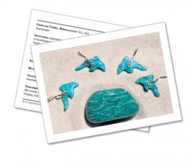 Infokarte / Mineralienkarte Amazonit