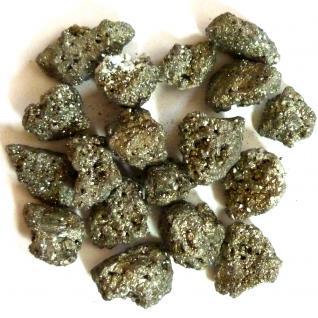 """Pyrit """"Chispa"""" kleine Kristalle (ca. 4-63 cm), 5 Stück"""