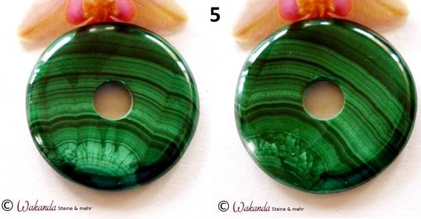 Donut Malachit 40 mm - Vorschau 4