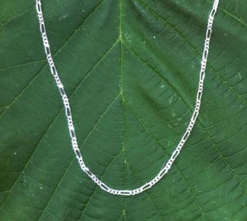 Silberkette Figarokette Silber 925, 1, 8 mm