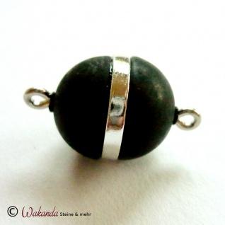 Magnetverschluss Olive, Silber 925