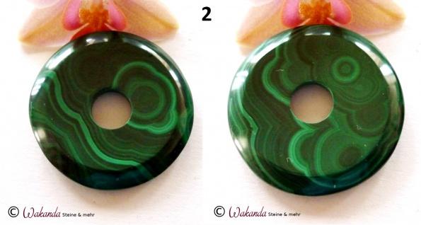 Donut Malachit 40 mm - Vorschau 3