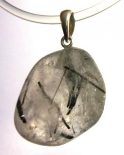 Anhänger Turmalinquarz, Stiftöse Silber 925, Einzelstück