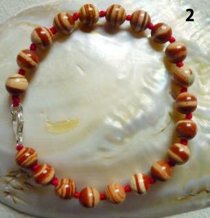 Kugelarmband Jaspis (roter Jaspis) - Vorschau 2