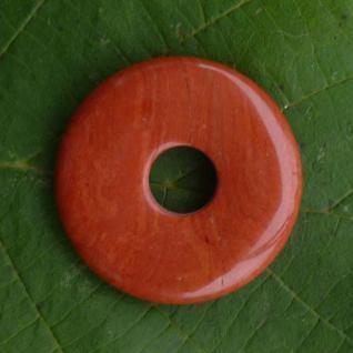 Donut roter Jaspis, 30 mm
