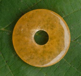 Donut Orangencalcit, 30 mm