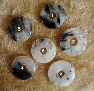 Donut Turmalinquarz 30 mm - Vorschau 2