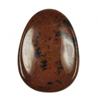 Daumenstein Obsidian - Mahagoniobsidian