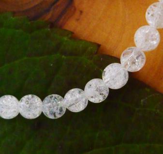 Crashed Crystal (Bergkristall), Kugeln gebohrt 4 mm, 10er Pack