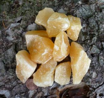 Orangencalcit Rohsteinbrocken, 1 Stück - Vorschau 2