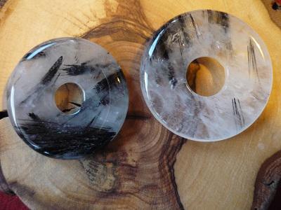 Donut Turmalinquarz 30 mm - Vorschau 1