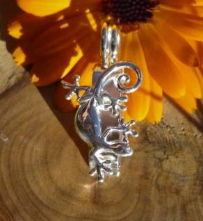 Donuthalter Gecko, Silber 925