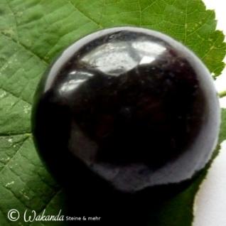Schörl (schwarzer Turmalin) Kugel ca. 3, 6 cm