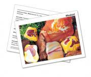 Infokarte / Mineralienkarte Mookait