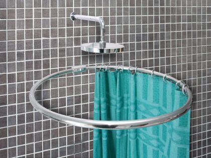 alu ringstange weiss rund 100 cm duschvorhangstange winkelstange f r duschvorhang kaufen bei. Black Bedroom Furniture Sets. Home Design Ideas