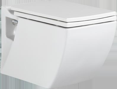 Hänge Wand Dusch Wc Eckig Taharet Bidet Taharat Toilette Creavit TP324 mit flach Düse inkl. Wc Sitz