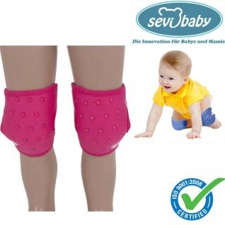 Sevibaby PINK Baby Knieschützer Knieschoner Krabbelhilfe Knieschutz 129-2