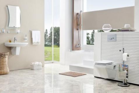 Hänge Wand Dusch Wc Eckig Taharet Bidet Taharat Toilette Creavit SR320 mit flach Düse inkl. Soft-Close Wc Sitz - Vorschau 5