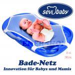 Baby Badewannennetz Eco Bad-Netz Sevibaby Badewannensitz Liege Baby Badesitz Bad