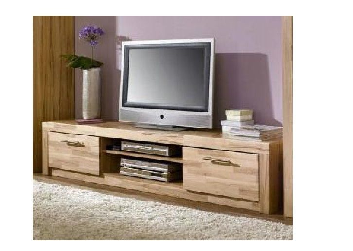 kernbuche teil massiv tv m bel schrank 200cm. Black Bedroom Furniture Sets. Home Design Ideas