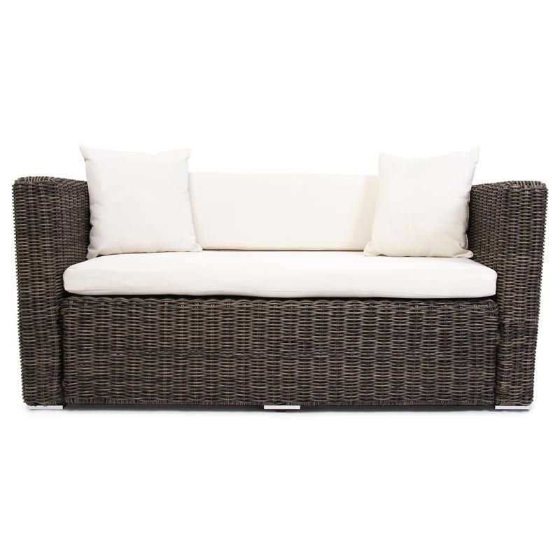 polyrattan grau garten gartensofa poly rattan sofa naturgrau lounge outdoor kaufen bei. Black Bedroom Furniture Sets. Home Design Ideas