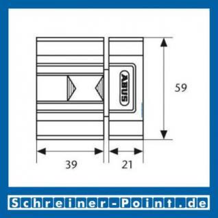ABUS SR30 weiß Schieberiegel für Innentüren, 117770, 117787, EAN 4003318117770, 4003318117787 - Vorschau 3