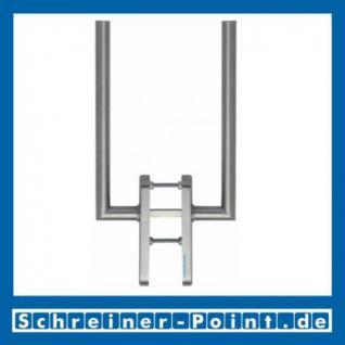 Hoppe Amsterdam Edelstahlt F69 Hebe-Schiebetür-Garnitur HS-E0400Z/431N PZ Lochung 2619616