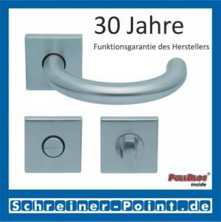Scoop Baloo quadrat PullBloc Quadratrosettengarnitur, Rosette Edelstahl matt - Vorschau 3