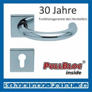Scoop Baloo quadrat PullBloc Quadratrosettengarnitur, Rosette Edelstahl poliert - Vorschau 2