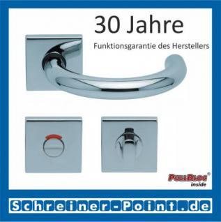 Scoop Baloo quadrat PullBloc Quadratrosettengarnitur, Rosette Edelstahl poliert - Vorschau 4